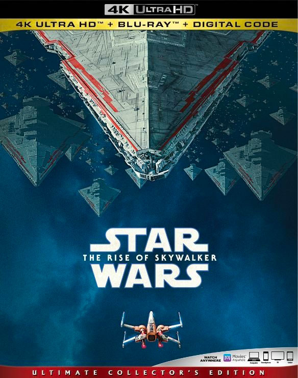 Star Wars: The Rise of Skywalker 4k Blu-ray Giveaway
