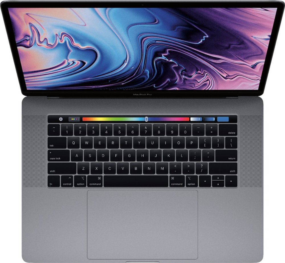Apple MacBook Pro 15 inch Touch Bar Intel Core i9 32GB top