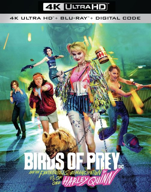 Birds of Prey 4k Blu-ray