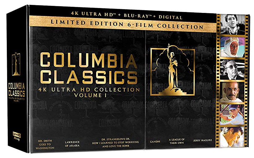 Columbia Classics 6-Film 4k Blu-ray Limited Edition