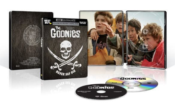 The Goonies 4k Blu-ray SteelBook