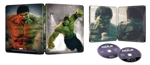 The Incredible Hulk 2008 4k SteelBook