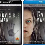 'The Invisible Man' Blu-ray & 4k BD Release Dates, Details & Package Art