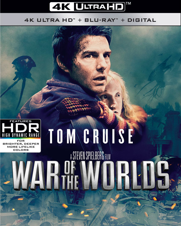 War of the Worlds (2005) 4k Blu-ray