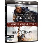 Braveheart & Gladiator packaged in 2-Movie 4k Blu-ray Edition