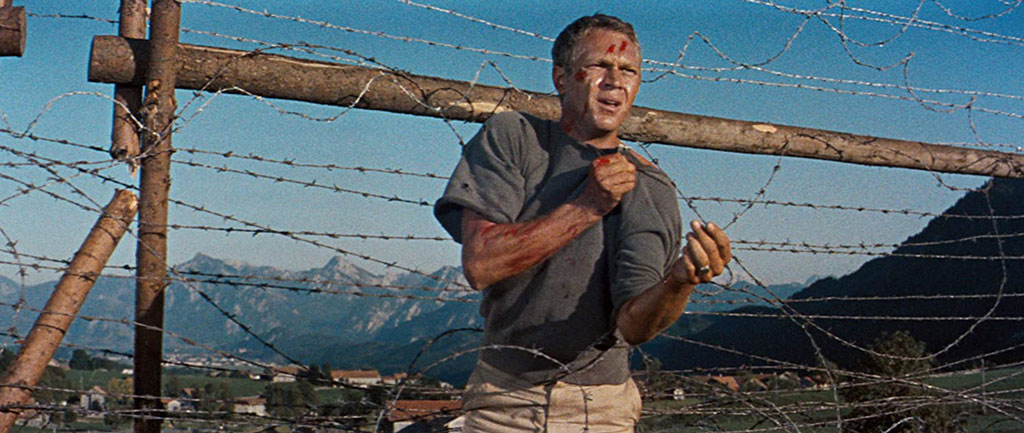 The Great Escape Steve McQueen movie still