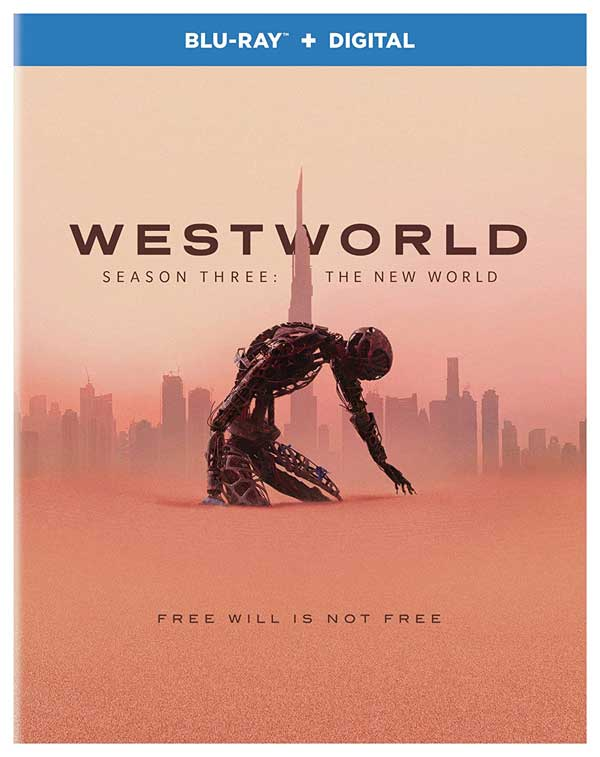 Westworld Season 3 The New World Blu-ray