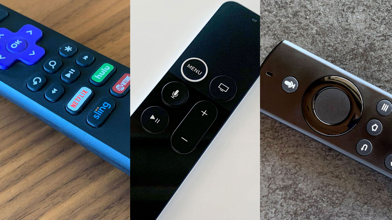 streaming media player remotes