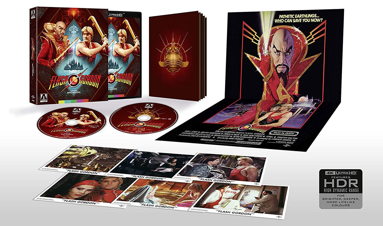 Flash Gordon 4k Blu-ray Collector's Edition