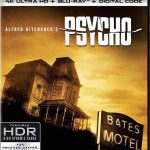 Psycho releasing to 4k Blu-ray 60th Anniversary edition