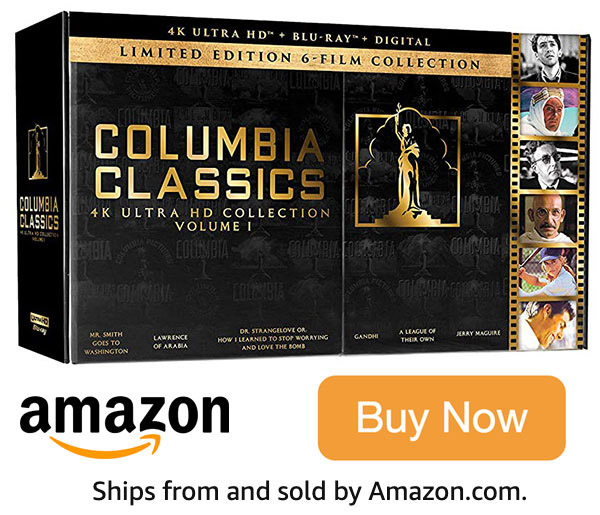 Columbia Classics 4k Blu-ray Collection Vol. 1