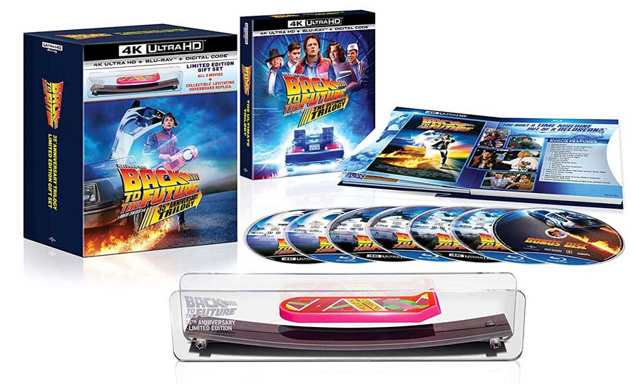 Back to the Future 35th Anniversary Trilogy 4k Blu-ray Giftset