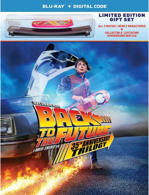 Back to the Future 35th Anniversary 4k Blu-ray giftset