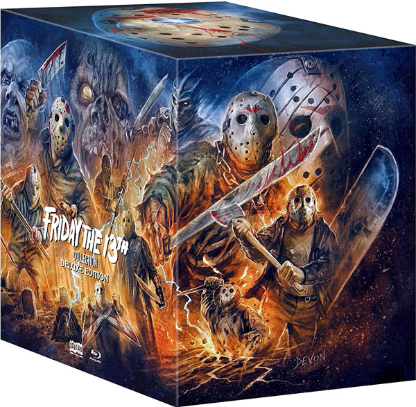Friday the 13th Collection Blu-ray