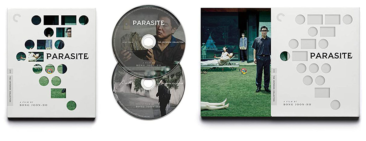 Parasite Blu-ray Criterion open