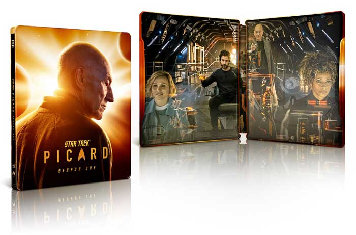 Star Trek: Picard Season Blu-ray SteelBook