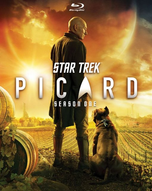 Star Trek Picard Season One Blu-ray