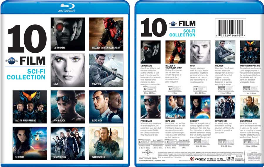 Universal-10-Film-Sci-Fi-Blu-ray-Collection