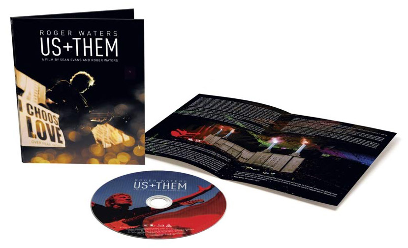 Us + Them Blu-ray open