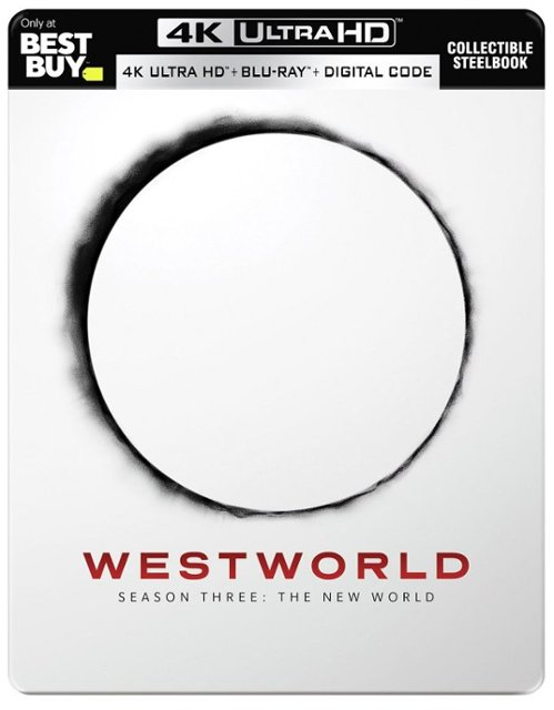 Westworld- The Complete Third Season 4k Blu-ray SteelBook