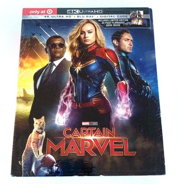 Captain Marvel 4k Blu-ray Target Exclusive