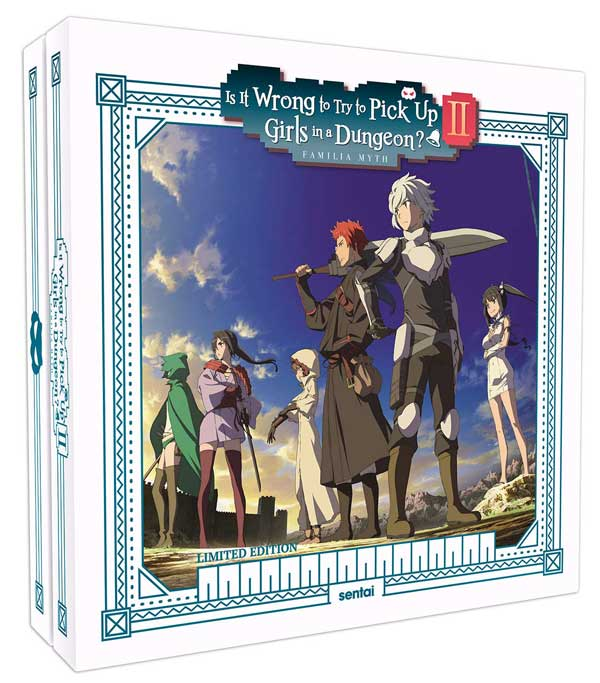Is It Wrong To Try To Pick Up Girls In A Dungeon Blu-ray Set