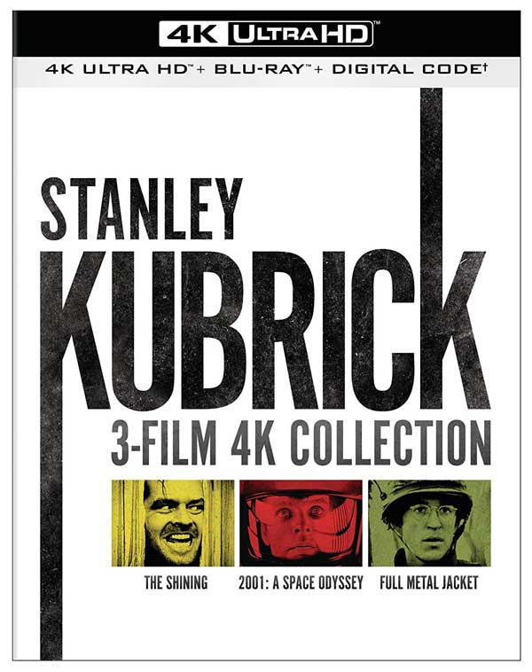 Stanley Kubrick 3-Film Collection  4k Blu-ray