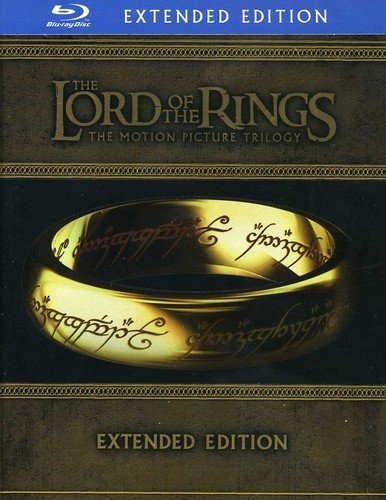 The Lord of the Rings- Extended Edition Trilogy Blu-ray