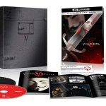 V for Vendetta remastered for 4k Ultra HD Blu-ray, Exclusive Giftset & SteelBook