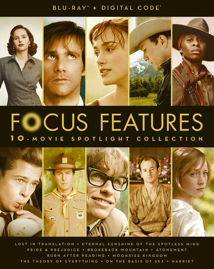 Focus Features 10 Movie-Spotlight Collection Blu-ray