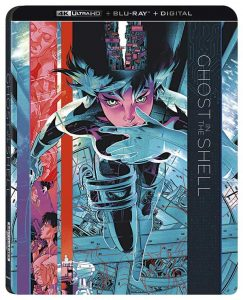 Ghost in the Shell (1995) 4k Blu-ray