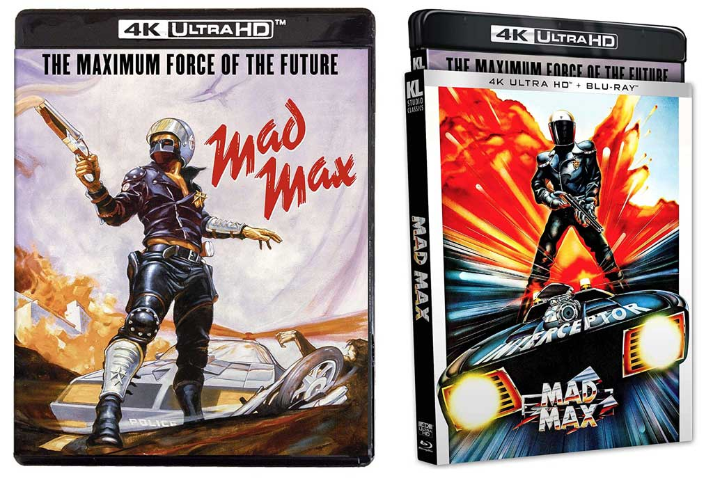 Mad Max 4k Blu-ray case & slipcover