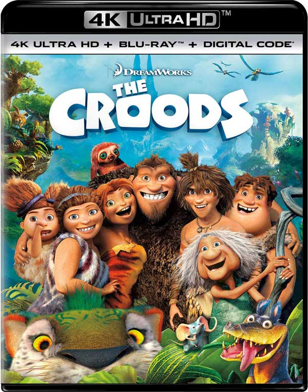 The Croods 4k Blu-ray