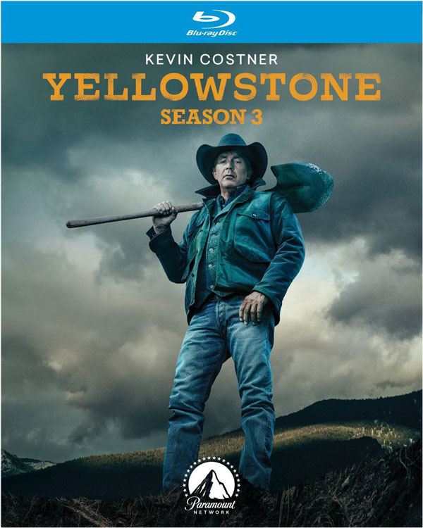 Yellowstone Season 3 Blu-ray