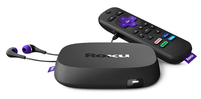 roku ultra 2020 w/voice remote