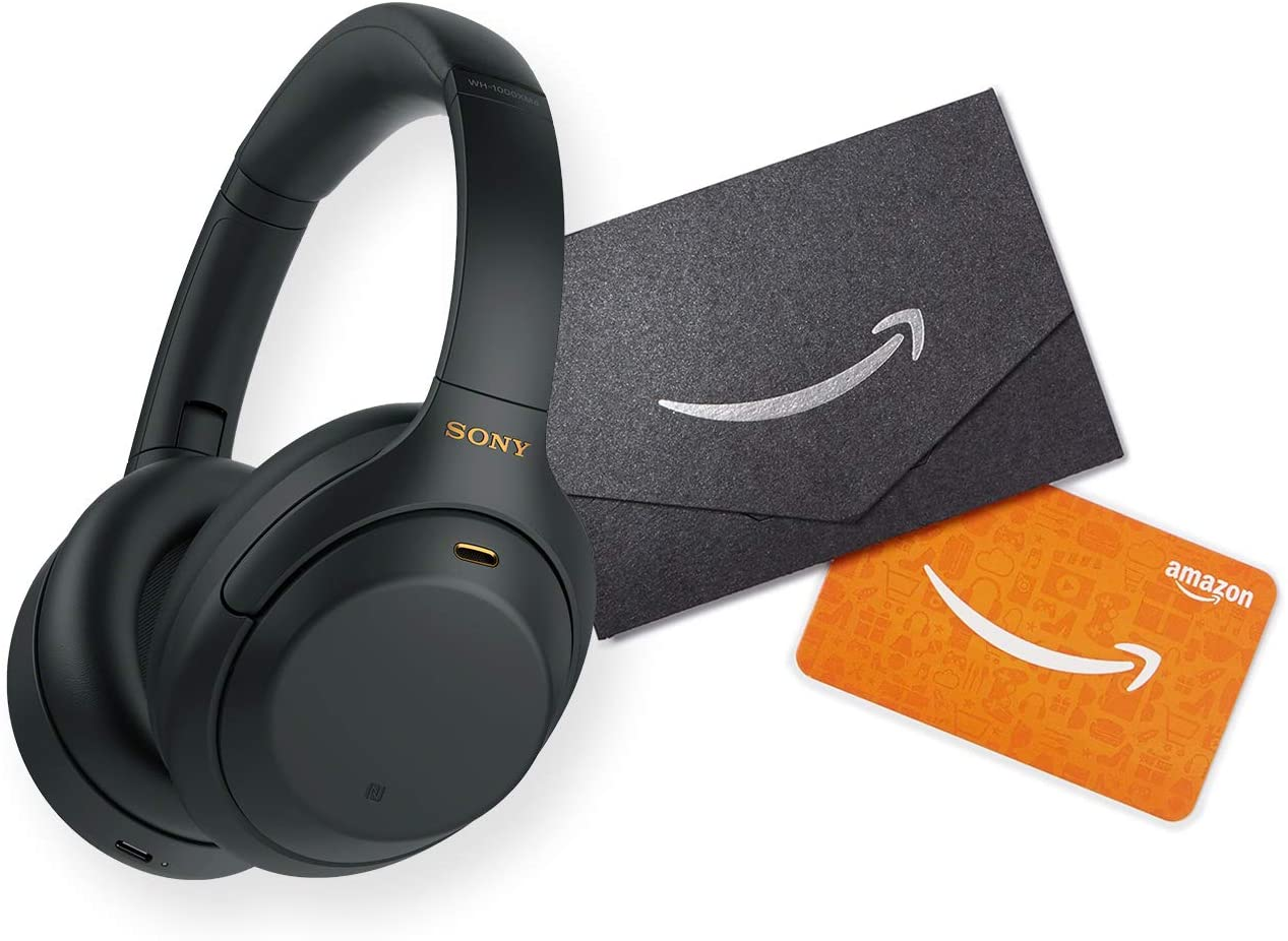 Sony WH-1000XM4 Wireless Industry Leading Noise Canceling Overhead Headphones with Mic