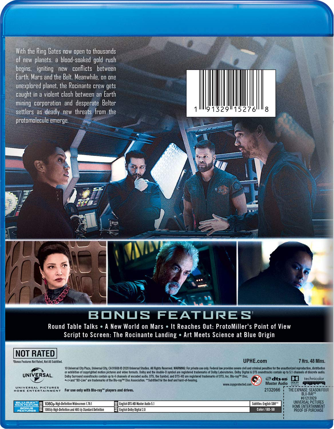 The Expanse- Season Four Blu-ray back