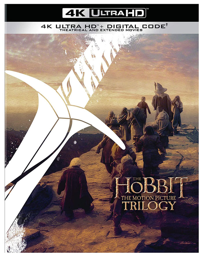 The Hobbit Motion Picture Trilogy Extended & Theatrical 4K Ultra HD Digital