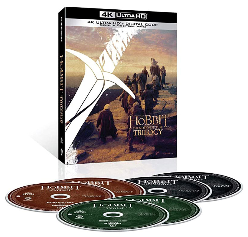 The Hobbit- Motion Picture Trilogy Extended & Theatrical 4K Ultra HD + Digital open