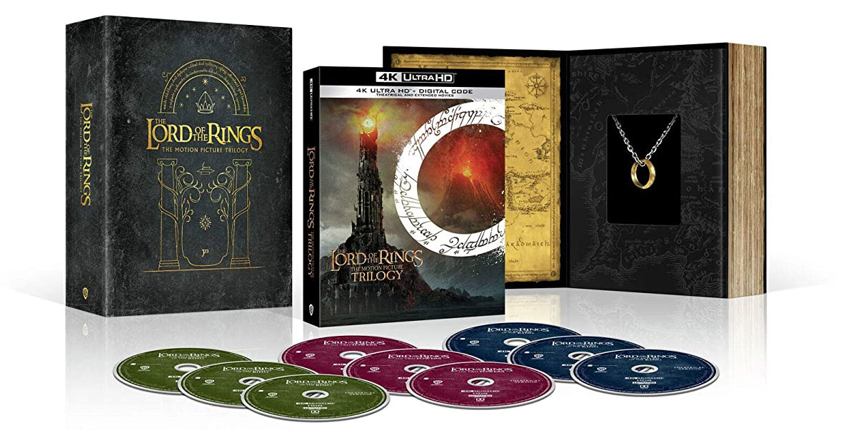 The Lord of the Rings: Motion Picture Trilogy 4k Blu-ray Giftset