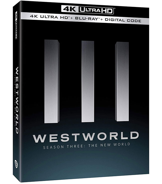 Westworld: Season 3 4k Blu-ray