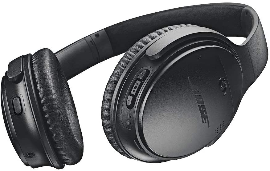 Bose QuietComfort 35 II Wireless Bluetooth Headphones, Noise-Cancelling Alexa