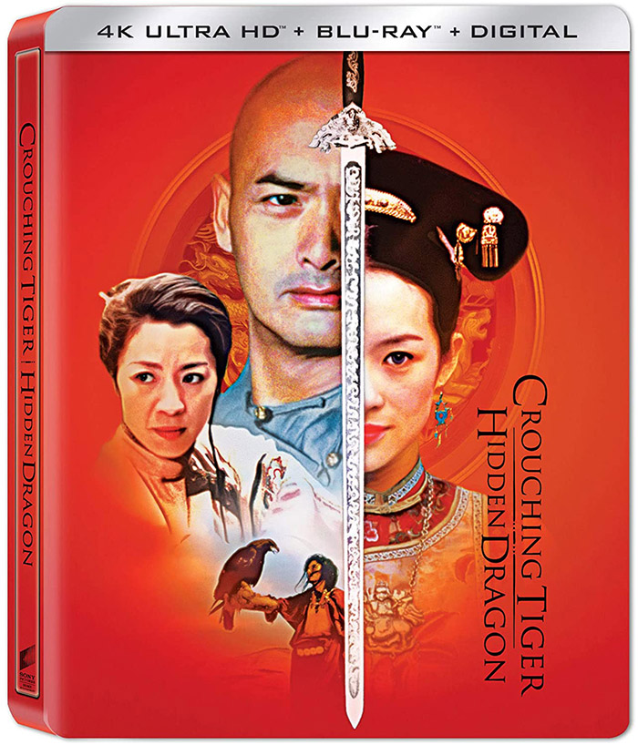 Crouching Tiger, Hidden Dragon 4k Blu-ray SteelBook