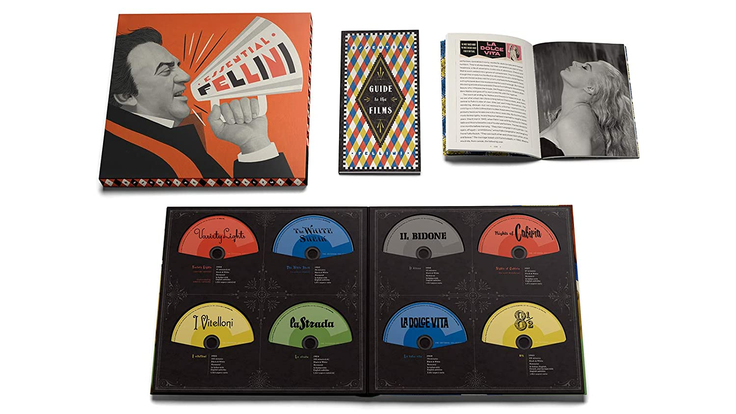 Essential Fellini Blu-ray open