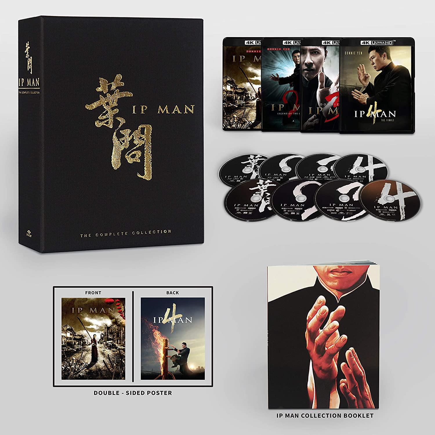 Ip Man The Complete Collection 4k Blu-ray open
