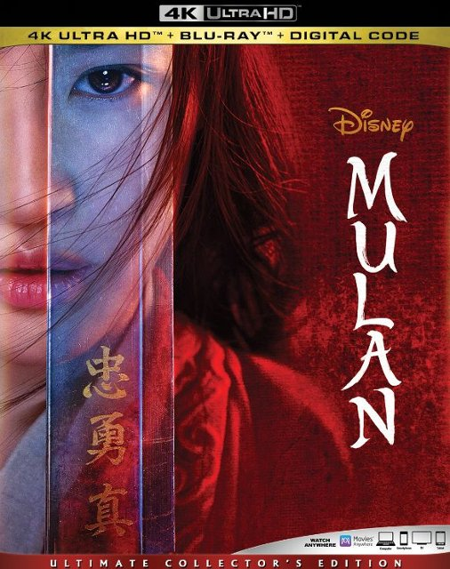 Mulan 4k Blu-ray Disc