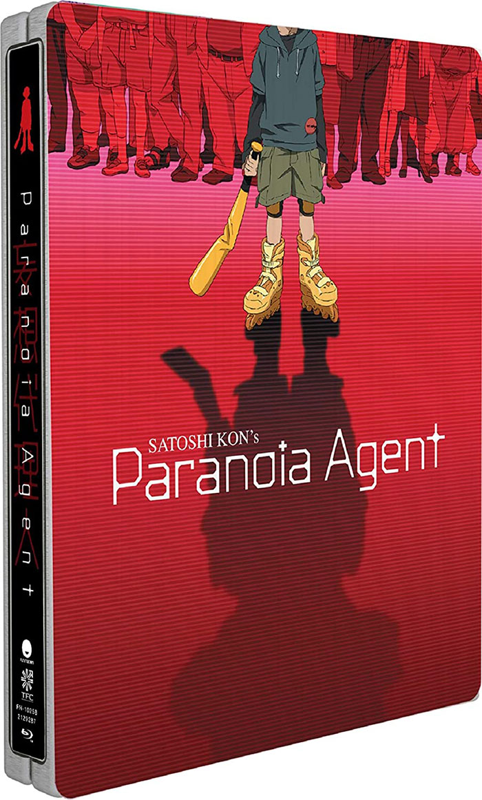 Paranoia Agent Blu-ray SteelBook front angle