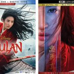 Mulan (2020) on Blu-ray & 4k Blu-ray Disc