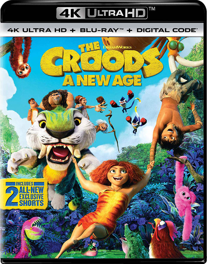 The Croods- A New Age 4k Blu-ray