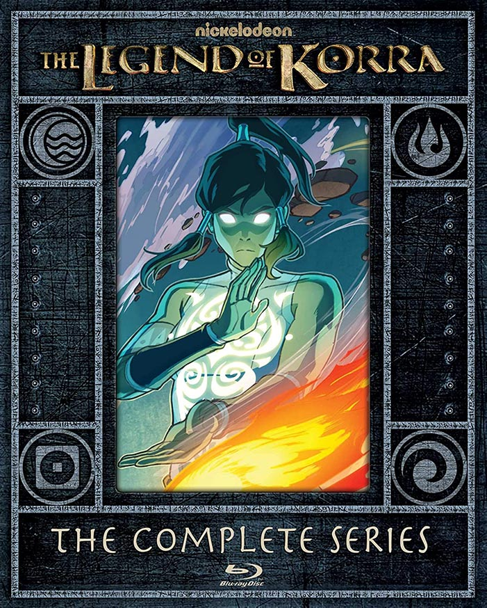 The Legend of Korra- The Complete Series Blu-ray Limited Edition Steelbook
